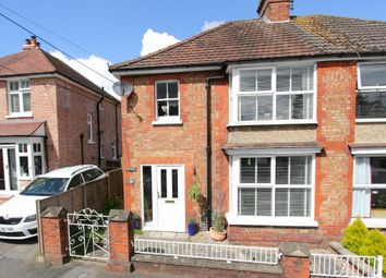Thumbnail 3 bed semi-detached house for sale in Cross Lane, Andover