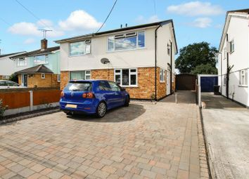 Thumbnail 2 bed semi-detached house for sale in Elder Avenue, Wickford