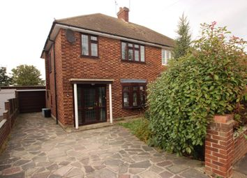 Thumbnail 3 bed semi-detached house for sale in Gowan Brae, Benfleet