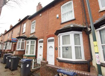 Thumbnail 3 bed terraced house for sale in Lottie Road, Selly Oak, Birmingham