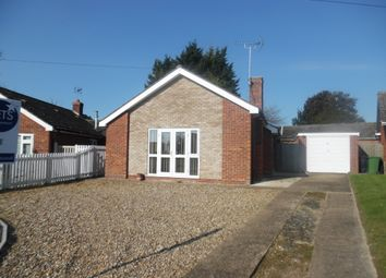 Thumbnail 2 bedroom detached bungalow for sale in Falcon Road, Feltwell, Thetford