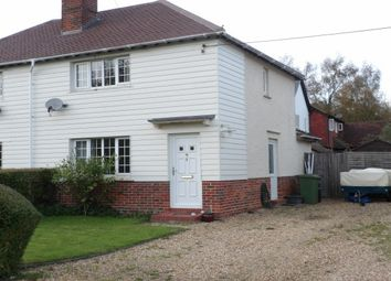 Thumbnail 3 bed semi-detached house to rent in Gaston Lane, Upper Farringdon, Alton