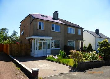 Thumbnail 4 bed semi-detached house to rent in St. Andrews, Grampian Way, Bearsden, Glasgow