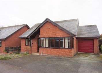 Thumbnail 2 bed detached bungalow for sale in Oak Close, Llanymynech