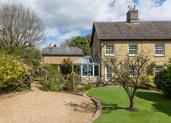 Thumbnail 3 bed cottage for sale in Chapel Row, Upper Dean, Huntingdon