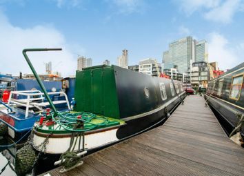 1 bed houseboat for sale in Boardwalk Place, London E14