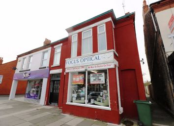 Thumbnail 2 bed flat for sale in Mixed Use Investment - Seaview Road, Wallasey, Wirral