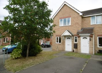 Thumbnail 2 bed end terrace house to rent in Brecon Close, Lincoln