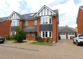 Thumbnail 3 bed semi-detached house to rent in Oxlade Drive, Slough