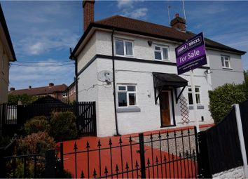 Thumbnail 3 bedroom semi-detached house for sale in Dickens Square, Derby