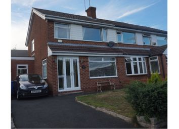 Thumbnail 3 bed semi-detached house for sale in Barnfield Road, Hyde