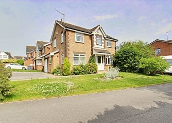 Thumbnail 4 bed detached house for sale in Poplars Way, Beverley