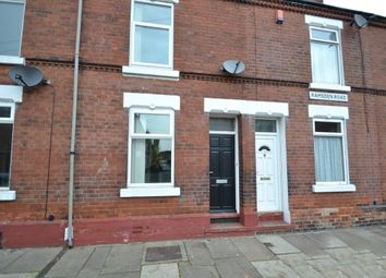 Thumbnail 2 bed terraced house to rent in Ramsden Road, Hexthorpe, Doncaster