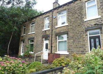 Thumbnail 3 bed terraced house to rent in Francis Avenue, Milnsbridge, Huddersfield