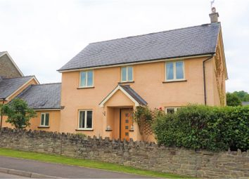 Thumbnail 4 bed link-detached house for sale in Chapel Field, Crickhowell