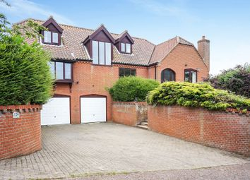 Thumbnail 5 bed detached house for sale in Beccles Road, Bungay