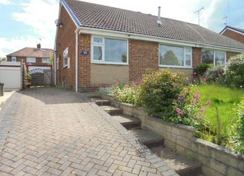 Thumbnail 2 bed semi-detached bungalow to rent in Priestley Drive, Pudsey
