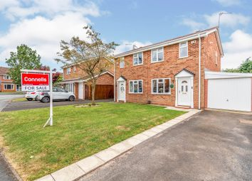 Thumbnail 2 bed semi-detached house for sale in Dunlin Drive, Featherstone, Wolverhampton