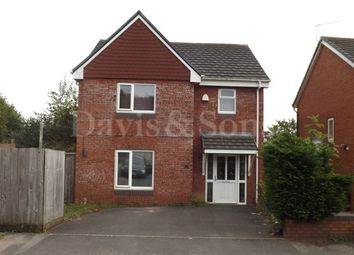 Thumbnail 4 bedroom detached house to rent in Royal Oak Drive, Off Chepstow Road, Newport.