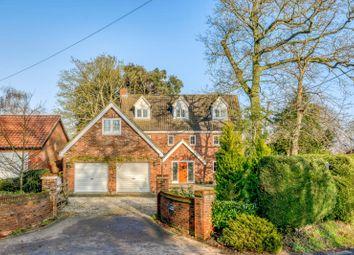 Thumbnail 5 bedroom detached house for sale in Dereham Road, Garvestone, Norwich