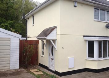 Thumbnail 2 bedroom semi-detached house to rent in Bushbury, Wolverhampton, West Midlands
