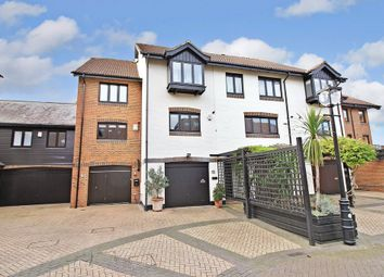 Thumbnail 4 bed town house for sale in Calshot Court, Channel Way, Ocean Village, Southampton