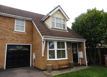 Thumbnail 4 bed end terrace house to rent in Lordswood Close, Wootton, Northampton
