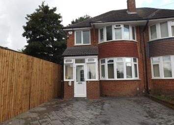 Thumbnail 3 bed semi-detached house for sale in Rosemary Road, Birmingham, West Midlands
