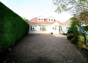 Thumbnail 4 bed bungalow for sale in Linney Road, Bramhall, Stockport, Greater Manchester