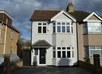 Thumbnail 4 bed semi-detached house for sale in Arundel Road, Harold Wood, Romford