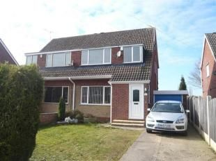 Thumbnail 3 bed semi-detached house to rent in Nursery Crescent, North Anston Sheffield