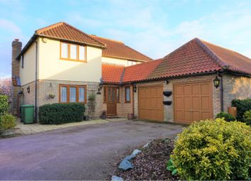 Thumbnail 4 bed detached house for sale in Loughton, Milton Keynes