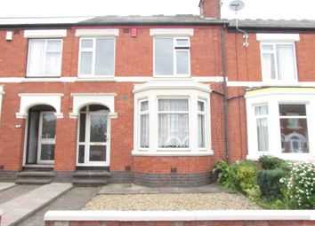 Thumbnail 4 bedroom terraced house to rent in Maudslay Road, Chapelfields, Coventry