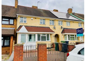 3 bed terraced house to rent in Cavendish Road, Walsall WS2
