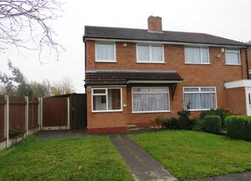 Thumbnail 3 bed semi-detached house for sale in Southfield Drive, Hall Green, Birmingham