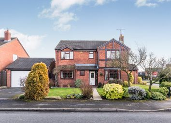 Thumbnail 4 bed detached house for sale in Warren Close, Lichfield