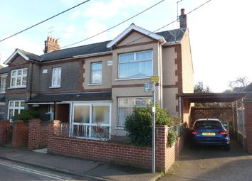 Thumbnail 3 bed end terrace house for sale in Grove Road, Beccles