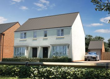 "Thumbnail 3 bedroom semi-detached house for sale in ""The Studland"" at Barracks Road, Modbury, Ivybridge"