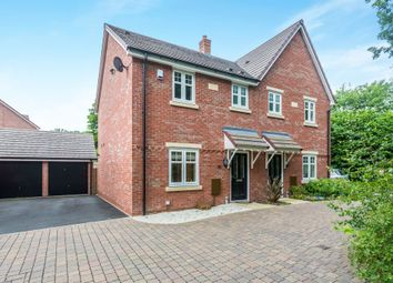 Thumbnail 3 bed semi-detached house for sale in Pale Manor Close, Malvern