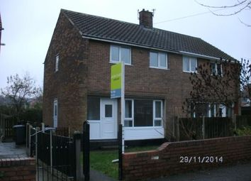 Thumbnail 2 bed semi-detached house to rent in Lytham Avenue, Monk Bretton, Barnsley, South Yorkshire