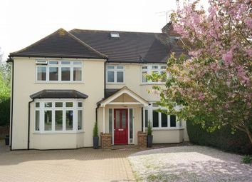 Thumbnail 5 bed semi-detached house to rent in St Helier Road, Sandridge, St Albans, Hertfordshire