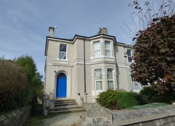 Thumbnail 1 bed flat to rent in Rougemont Mannamead Rd, Plymouth, Devon