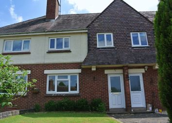 Thumbnail 3 bed terraced house for sale in Dingle Drive, Beckbury, Nr Shifnal, Shropshire.
