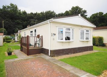 Thumbnail 1 bed mobile/park home for sale in Gladelands Park, Ringwood Road, Ferndown, Dorset