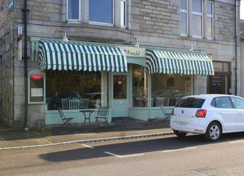 Thumbnail Restaurant/cafe for sale in Fresh! Café / Restaurant, 121 High Street, Aberlour