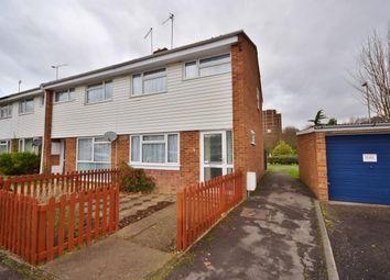 Thumbnail 3 bed end terrace house for sale in Eastrop, Basingstoke