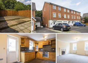 Thumbnail 3 bed town house for sale in Chirk Close, Coedkernew, Newport