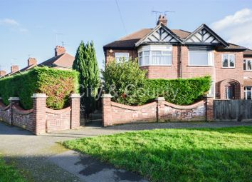 Thumbnail 3 bedroom semi-detached house for sale in Norton Road, Peterborough