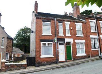 Thumbnail 2 bedroom end terrace house for sale in Dominic Street, Penkhull, Stoke On Trent