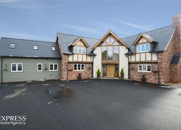 Thumbnail 3 bed detached house for sale in Llanyre, Llandrindod Wells, Powys
